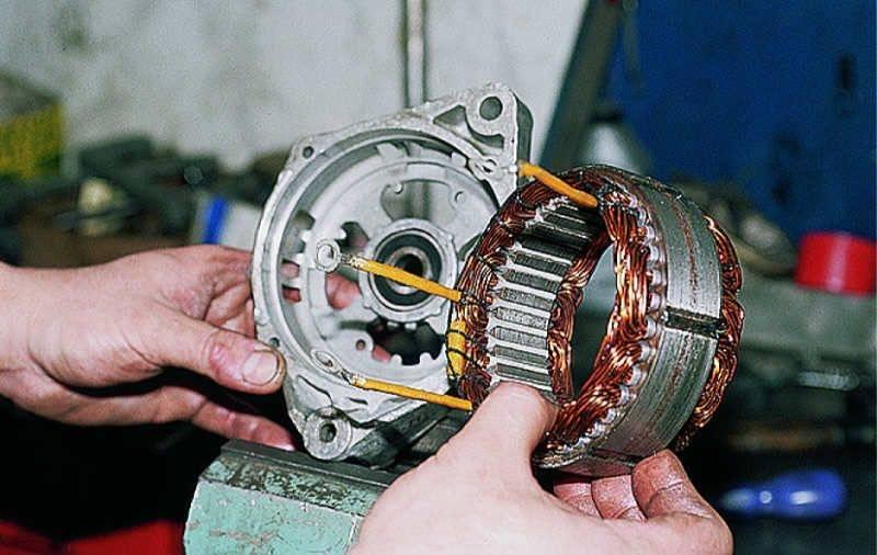 Ремонт генератора автомобиля своими руками в домашних условиях