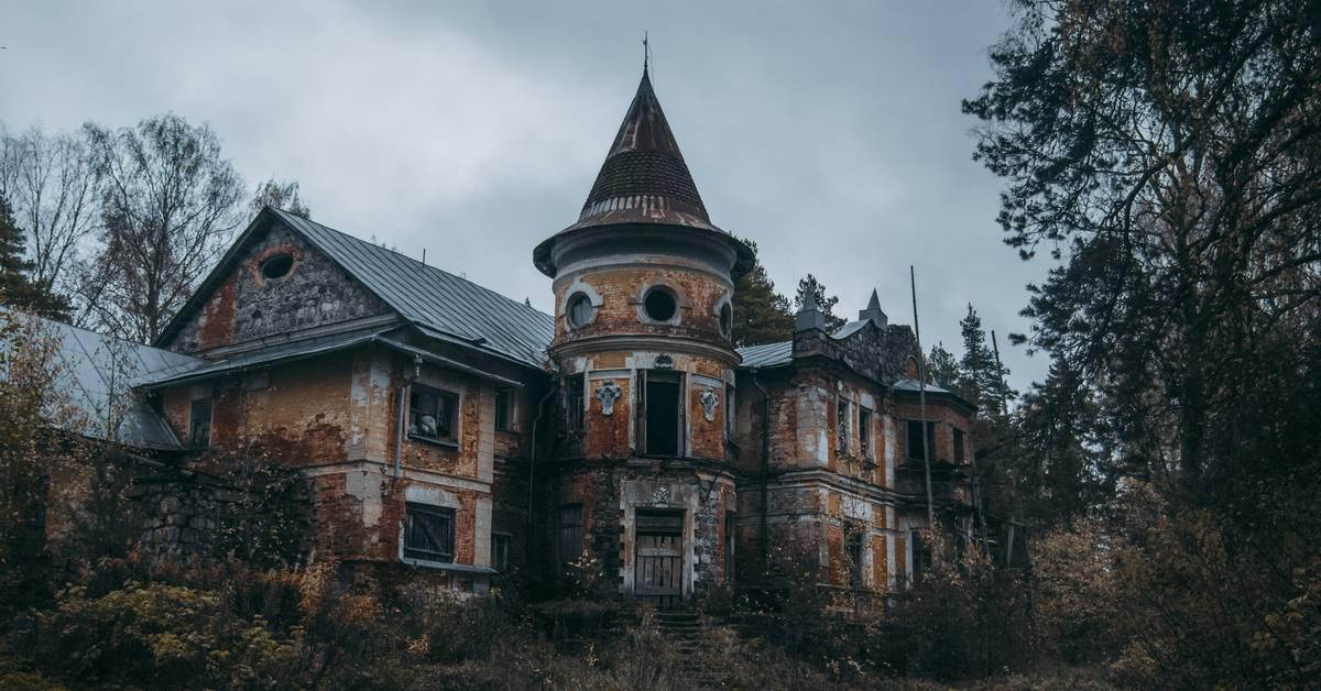 Заброшенные усадьбы и церкви ленинградской области