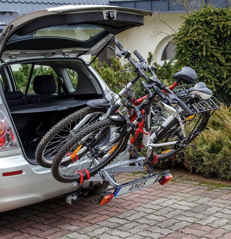 Правила перевозки велосипеда в машине