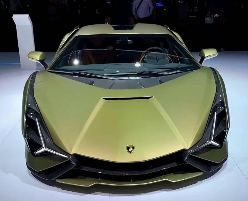 Lamborghini sián fkp 37 - gaz.wiki