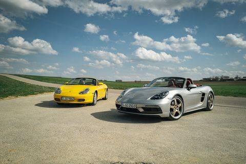 Porsche 718 cayman и 718 boxster получили новые версии - журнал движок.