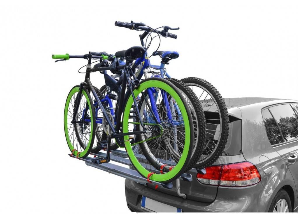 Перевозка велосипедов на автомобиле. 4 метода