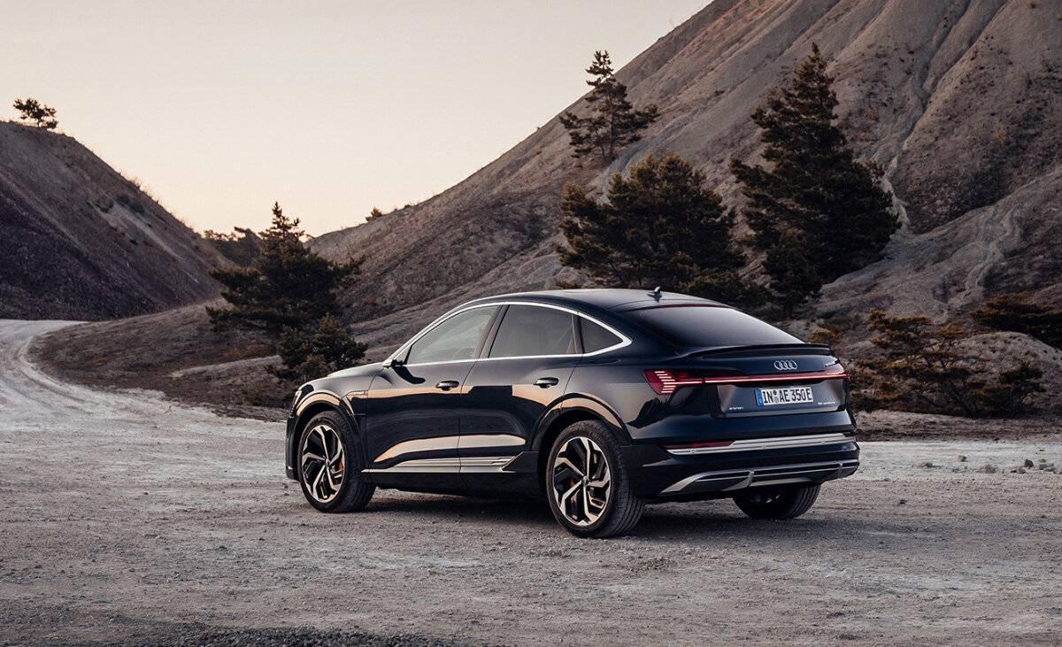 Audi представила электрическое кросс-купе e-tron Sportback