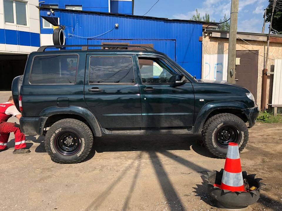 Какие колесные диски поставить на УАЗ Патриот, как за ними ухаживать