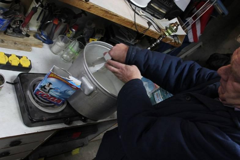 Промывка системы охлаждения двигателя: описание,методы промывки.