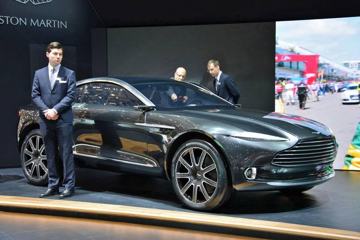 Aston Martin официально представила свой первый кроссовер DBX
