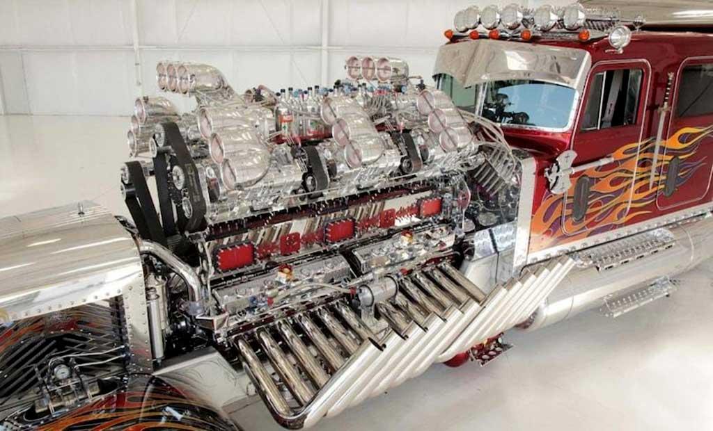 Самые большие двигатели в мире: топ-10