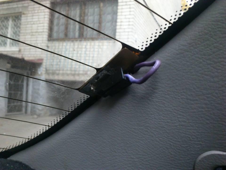 Характеристика обогрева заднего стекла и его ремонт своими руками