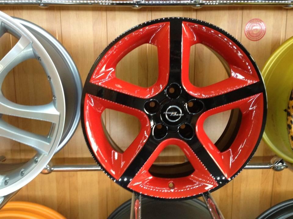 Покраска дисков своими руками: как и чем покрасить литые и штампованные диски на авто