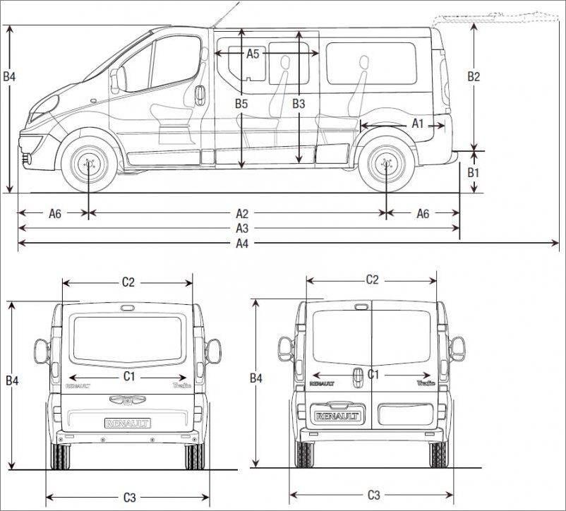 Renault trafic рестайлинг 1989, цельнометаллический фургон, 1 поколение (05.1989 — 04.1995) — технические характеристики и комплектации