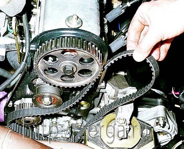 Ваз 21093 инжектор замена ремня грм