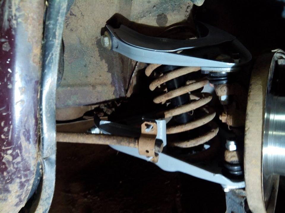 Ремонт рычага передней подвески на ваз 2101 — 2107