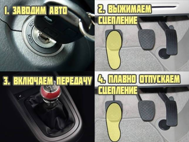 Как правильно ездить на автомате?