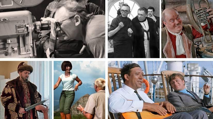 Комедии леонида гайдая: список лучших советских фильмов