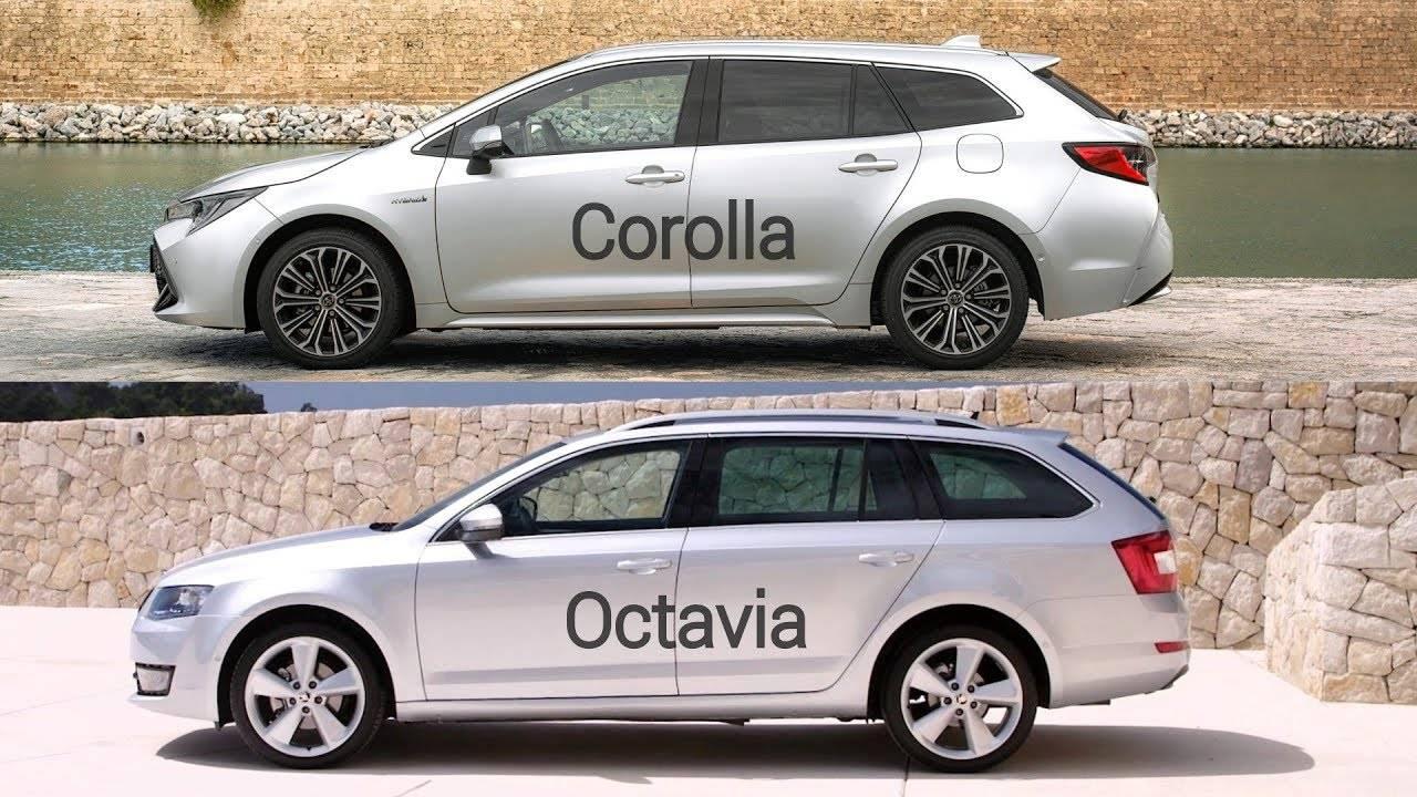 Легендарность против престижа: Corolla (E160, E170) или Octavia III