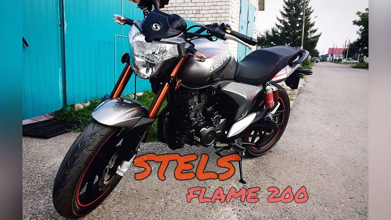 Кастом за 40 тысяч рублей: обзор Stels Flame 200 Cafe
