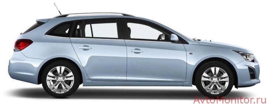 Chevrolet cruze клиренс