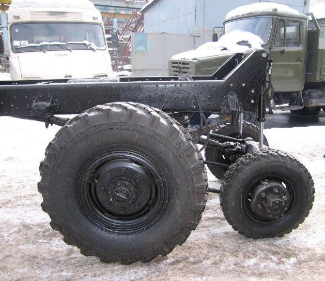 Назло oshkosh. «калам-1»: последний армейский грузовик зила