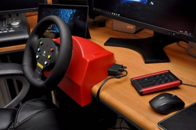 Как подключить руль к компьютеру с windows? | ichip.ru