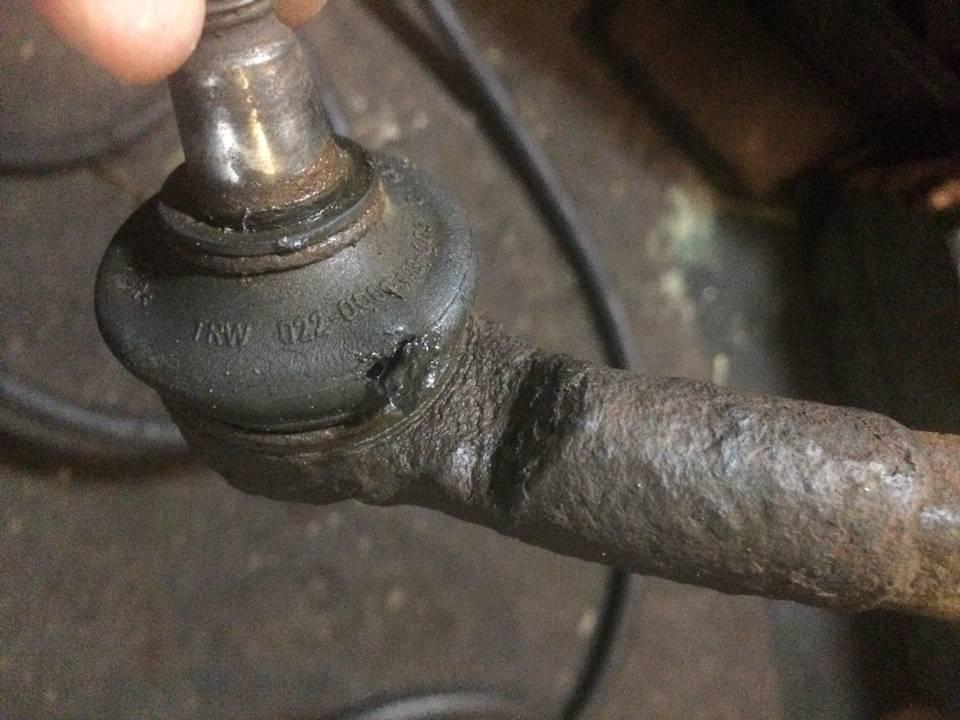 Восстановление рулевого наконечника своими руками
