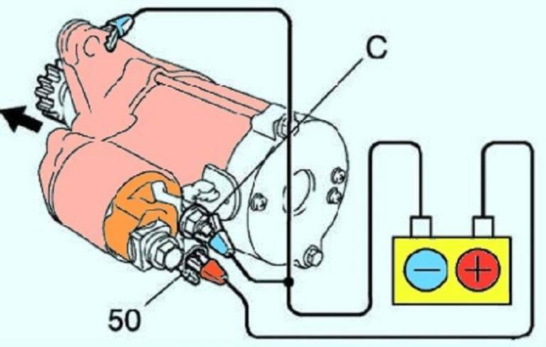 Диагностика и ремонт втягивающего реле стартера своими руками