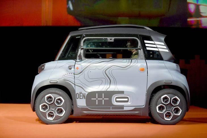 Citroen ami автомобиль для детей: электромобиль который могут водить дети от 14 лет - бизнес-журнал b-mag
