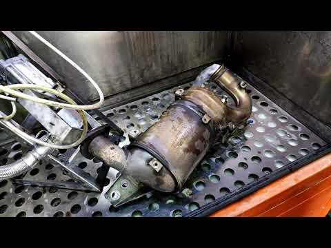 Чем промыть сажевый фильтр дизельного двигателя своими руками