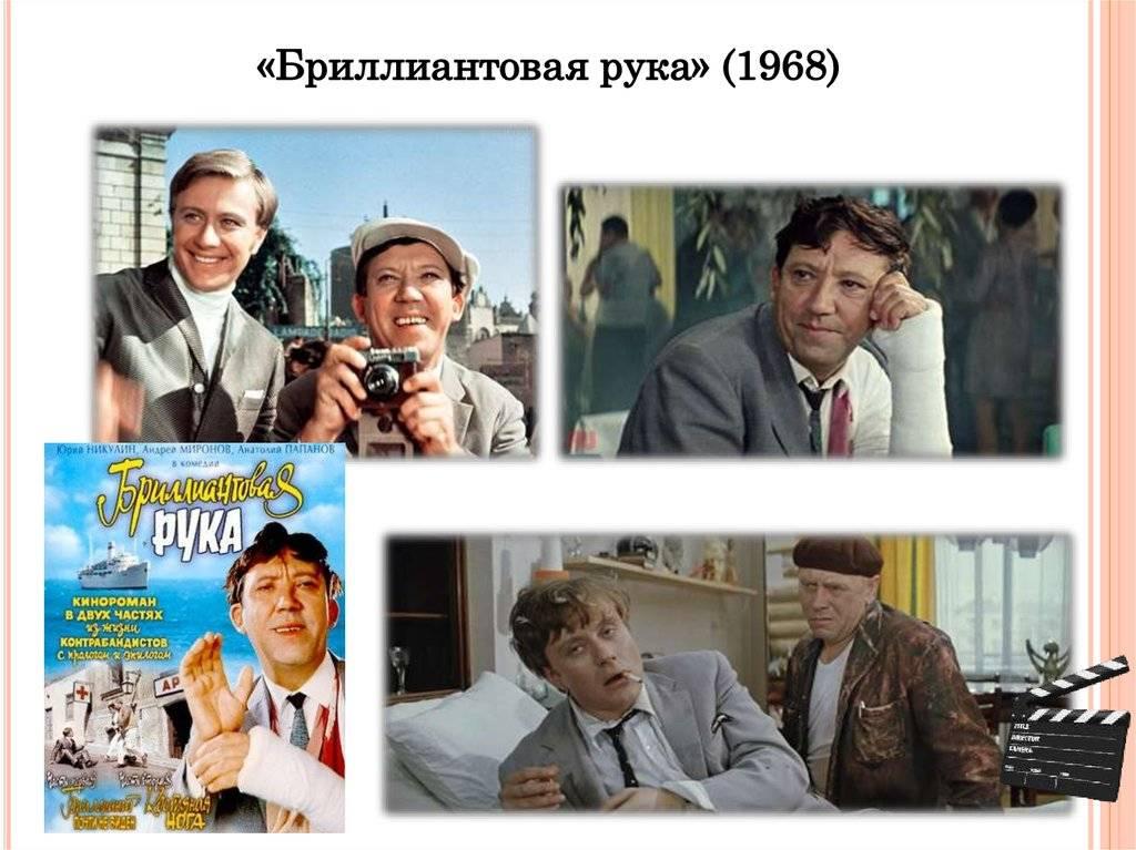 Леонид гайдай все фильмы список