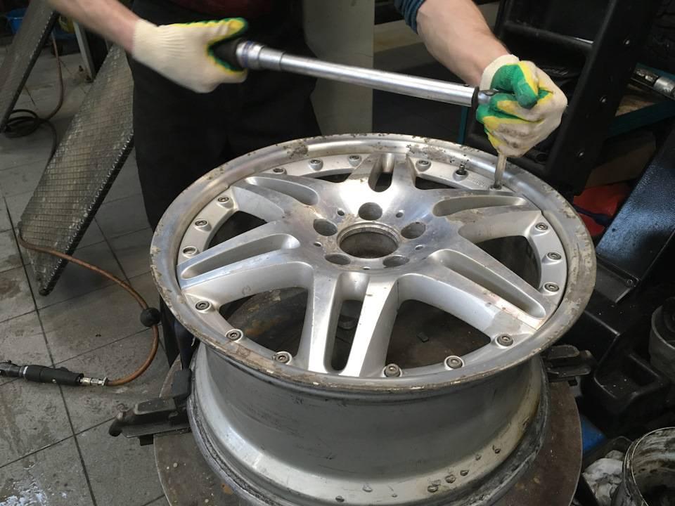 Как выполняется прокатка автомобильных дисков?