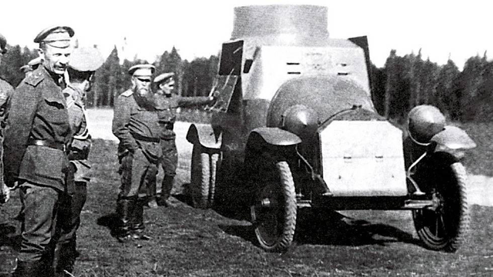 Канадская броня в первую мировую и межвоенный период