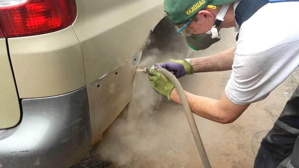 Как избавиться от ржавчины на автомобиле своими руками