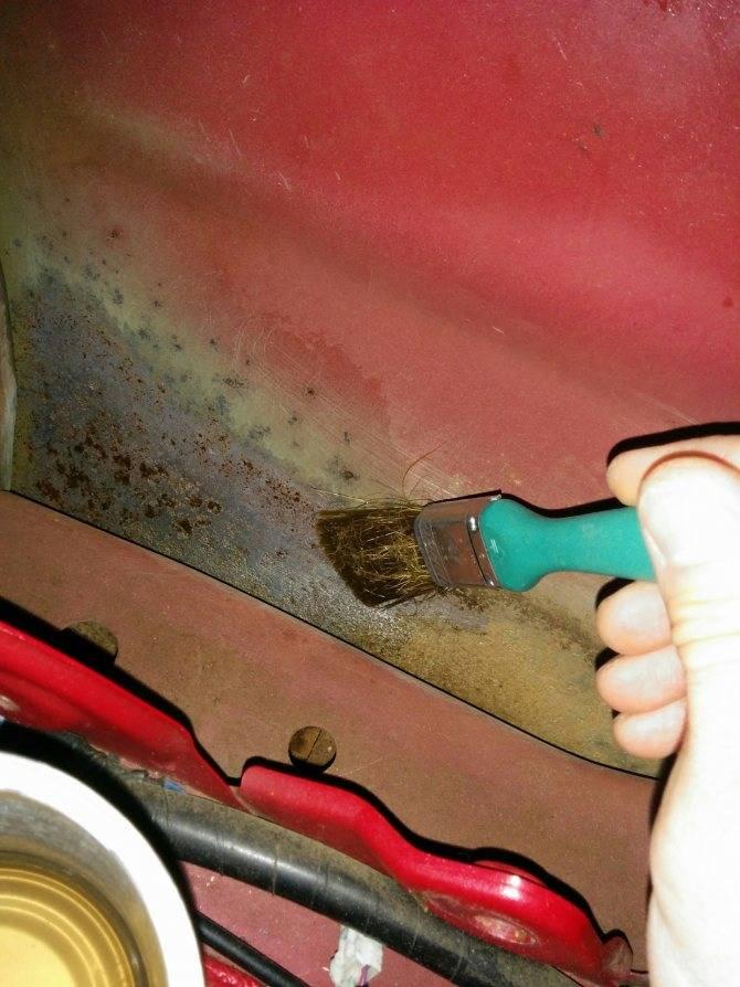 Как закрасить ржавчину на машине своими руками: как правильно (фото)