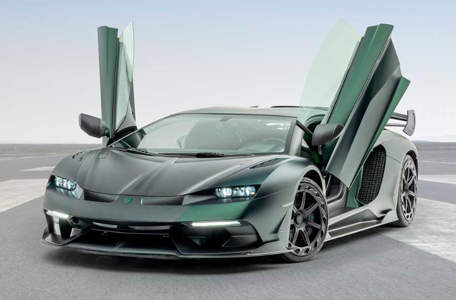 Mansory Cabrera – новый эксклюзивный спорткар от Lamborghini