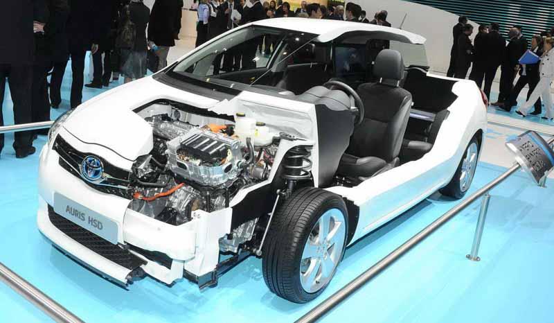Принцип работы гибридного двигателя автомобиля