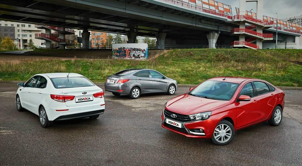 Что лучше взять: новую LADA Vesta или подержанный Hyundai Solaris