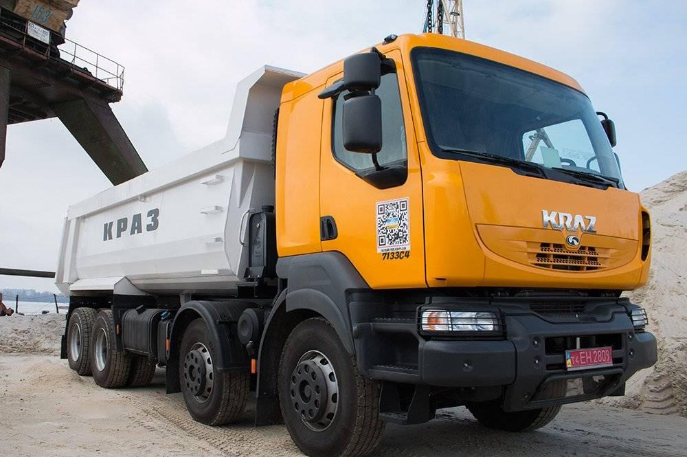 Популярные модели грузовика краз