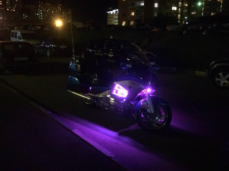 Обзор мотоцикла honda gl1800 f6b gold wing