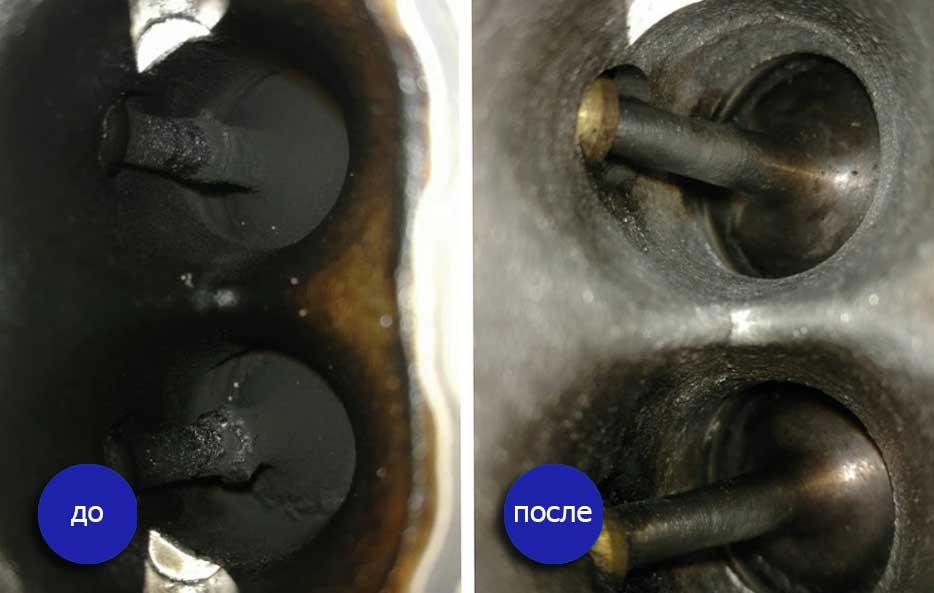 Чистка двигателя водородом