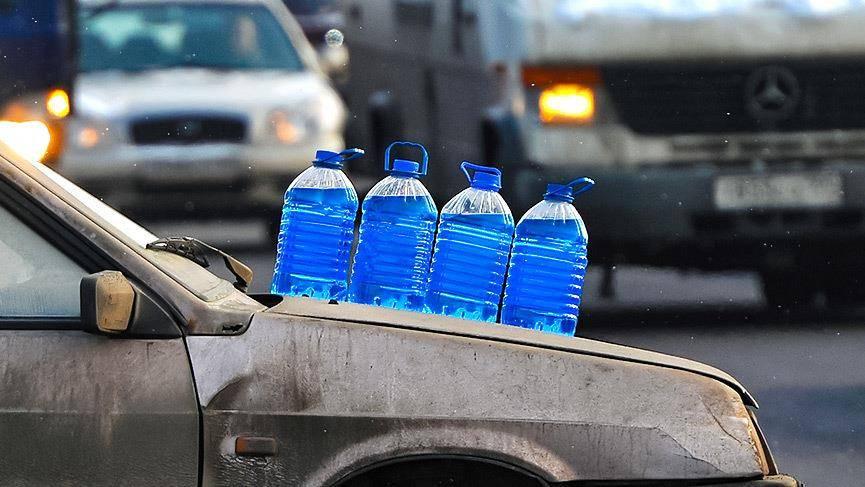 В прибайкалье обнаружили стеклоомывающие жидкости с повышенным содержанием метанола