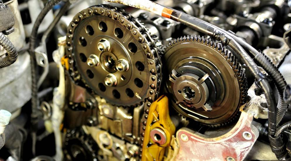 5 моторов с самой надежной цепью грм
