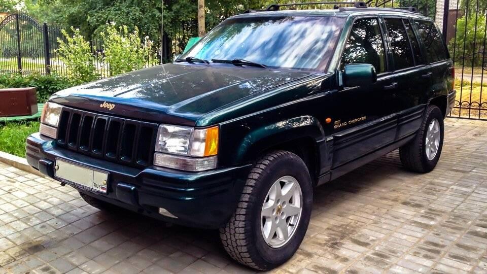 Jeep grand cherokee i zj (1993-1998) – внедорожник с характером.