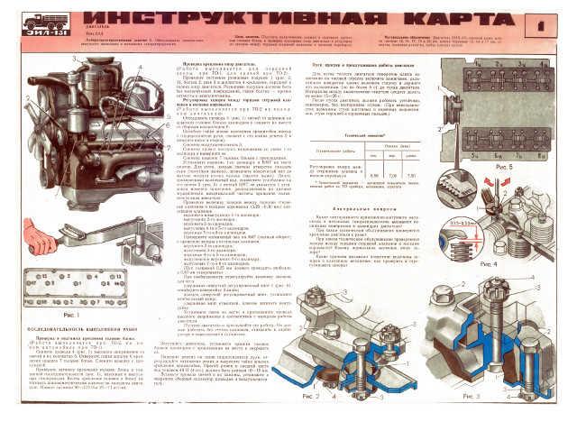 Двигатель зил-130: механизмы двигателя, смазочная система