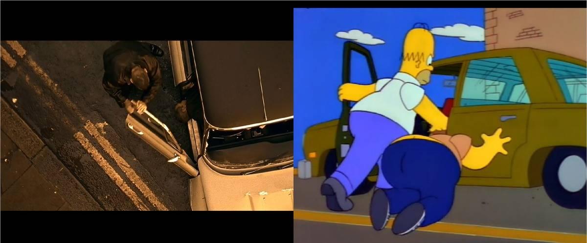 """На чем ездят в """"симпсонах"""" - все автомобили культового мультфильма"""