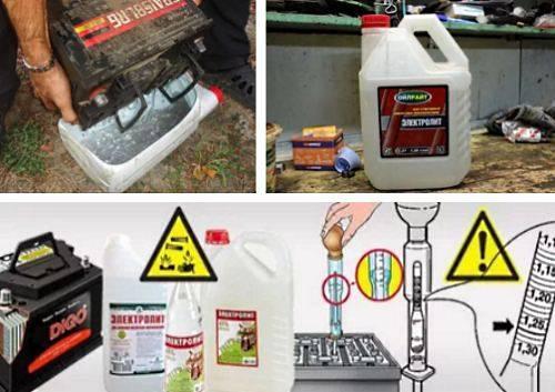 Замена электролита в аккумуляторе автомобиля: 6 полезных советов