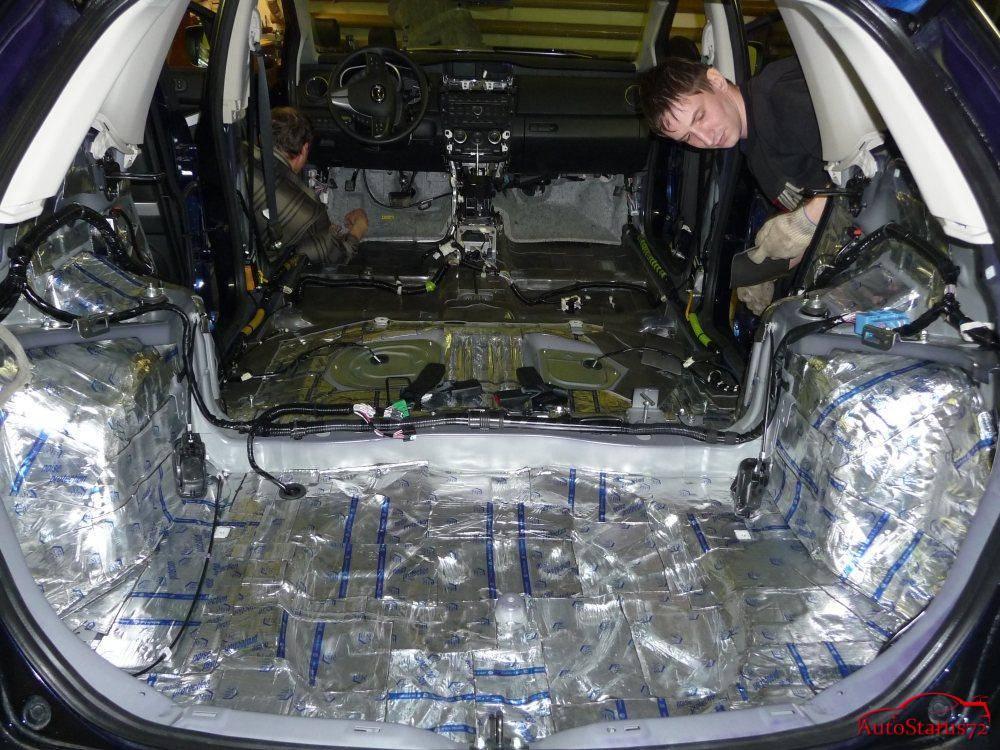 Жидкая шумоизоляция автомобиля, делаем все правильно