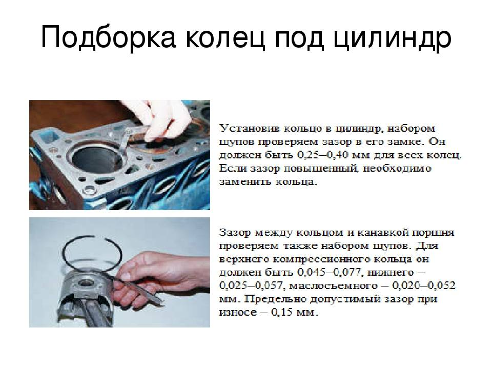 Когда необходимо производить замену поршневых колец как устанавливать кольца на поршень при замене своими руками ресурс, колец, притирка и обкатка