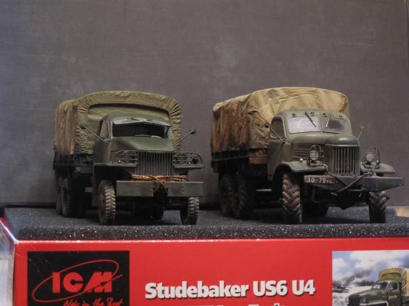 Обзор грузового автомобиля studebaker us6 — история, описание, технические характеристики и послужной список