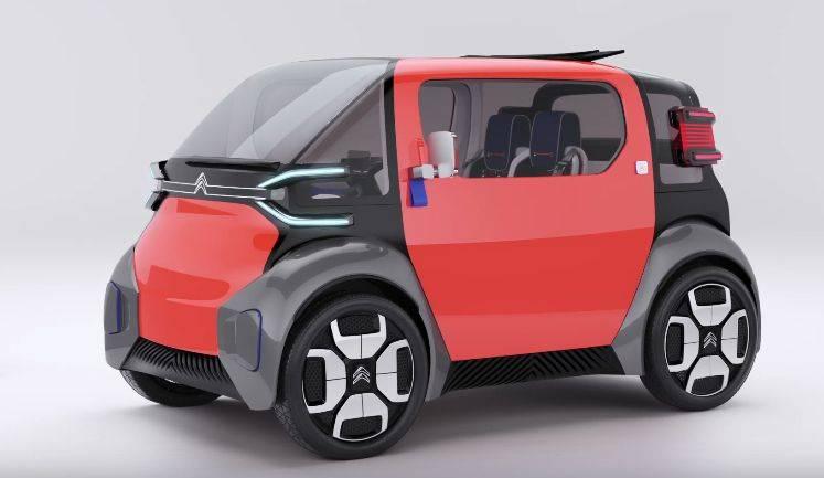Бюджетный квадрицикл-электромобиль citroen ami