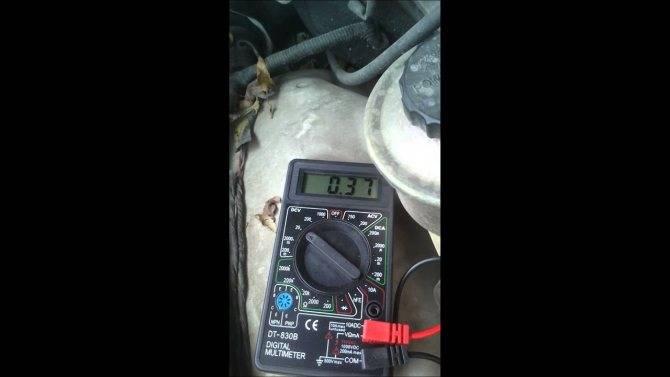 Как проверить лямбда зонд (датчик кислорода) на работоспособность мультиметром, распиновка, напряжение