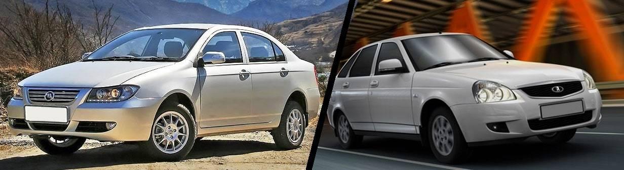Бюджетный и еще бюджетнее: выбираем между Lifan Solano и Lada Priora